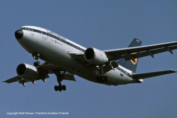 """D-AICF Lufthansa Airbus A310-203 (MSN 237) """"Rüdesheim am Rhein"""""""
