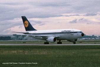 "D-AICK Lufthansa Airbus A310-203 (MSN 257) ""Westerland / Sylt"""