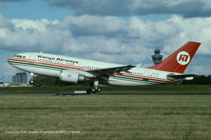 5Y-BEL Kenya Airways Airbus A310-304 (MSN 416)
