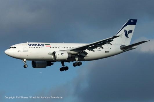 EP-IBL Iran Air Airbus A310-304 (MSN 436)