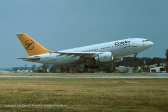 D-AIDC Condor Airbus A310-304 (MSN 485)