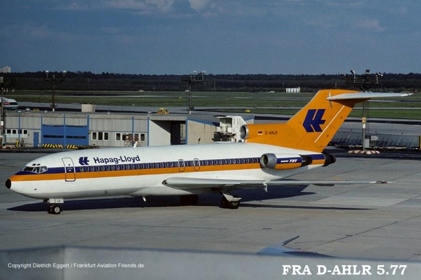 D-AHLR Hapag-Lloyd Boeing 727-89 (sn 19138 / ln 246)   Frankfurt ...