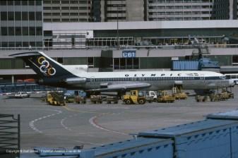 "SX-CBA Olympic Airways Boeing 727-284 (sn 20003 / ln 671) ""Mount Olympos"""