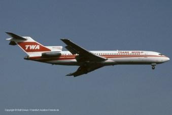 N54332 TWA Trans World Airlines Boeing 727-231 (sn 20210 / ln 802)