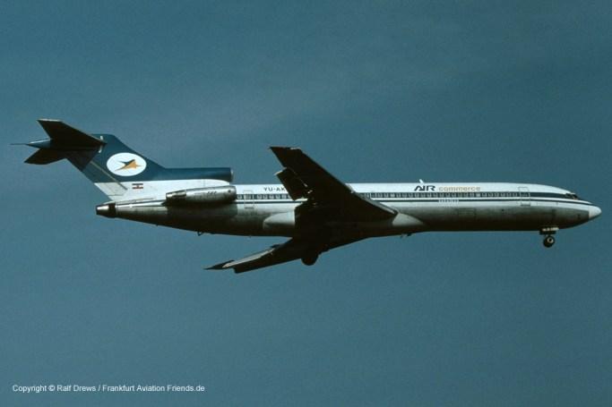 YU-AKB Air Commerce Sarajevo Boeing 727-2H9 (sn 20931 / ln 1101)