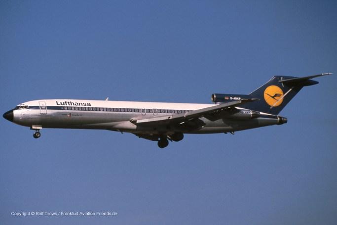 "D-ABKP Lufthansa Boeing 727-230 (sn 21619 / ln 1407) ""Krefeld"""