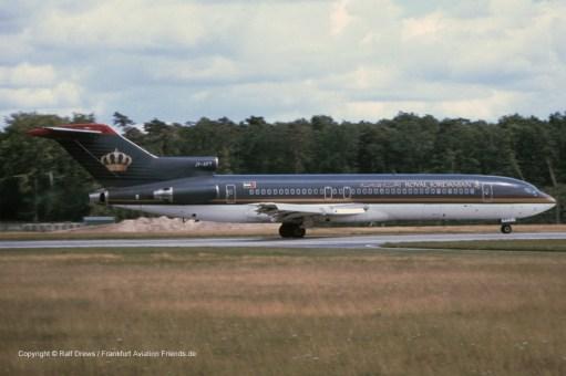 "JY-AFT Royal Jordanian Boeing 727-2D3 (s/n 22268 / ln 1641) ""City of Irbid"""