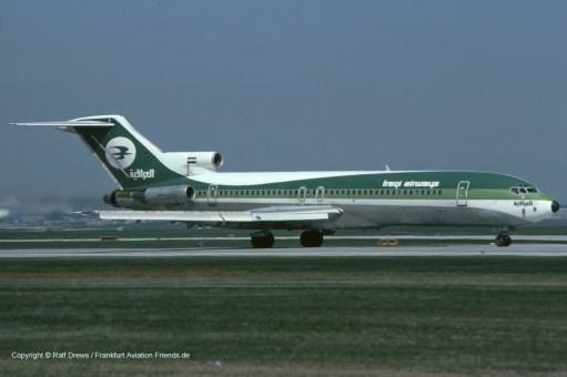YI-AGR Iraqi Airways Boeing 727-270 (sn 22262 / ln 1686)