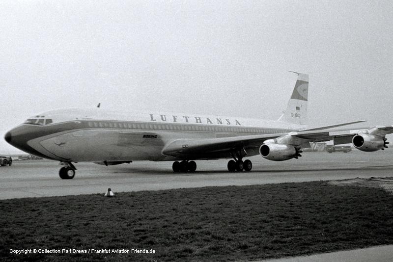 D-ABOC Lufthansa Boeing 707-430 (sn 17719 / 106)