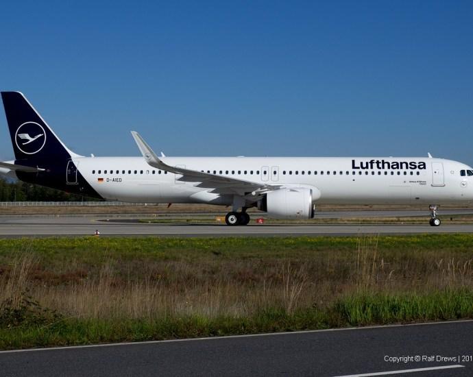 D-AIED Lufthansa Airbus A321-271NX (MSN 8958)