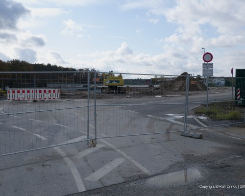 Photo Position 13 former Holiday parking is no more accessable due construction work
