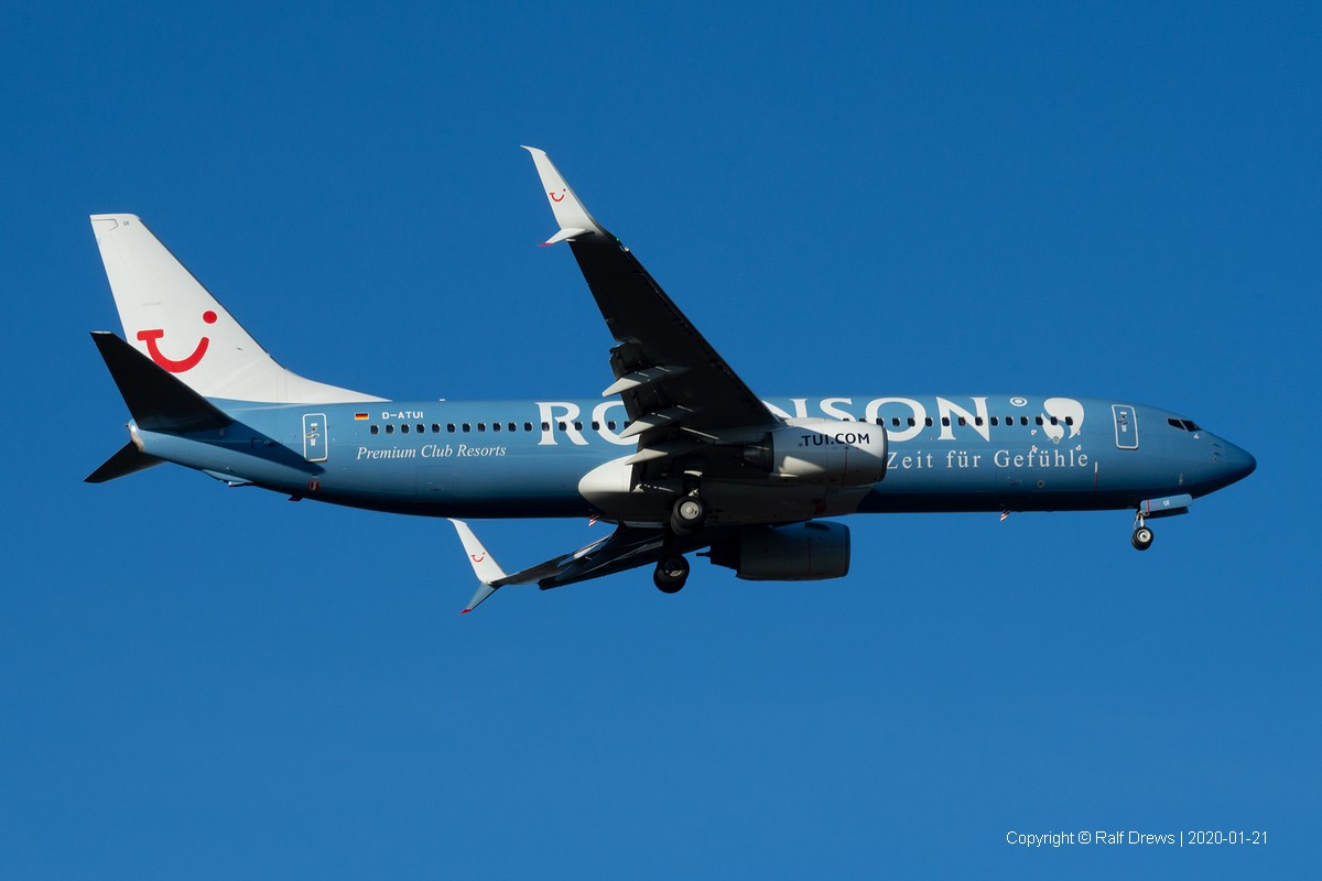 D-ATUI TuiFly Boeing 737-8K5 (ln 3554)