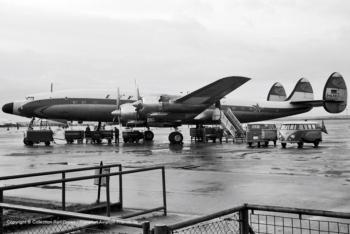 D-ALER Lufthansa Lockheed L.1649 (sn 1041) Super Star