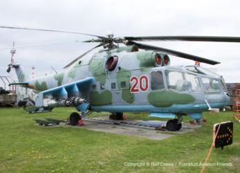 "020 Mil Mi-24A ""Hind"""