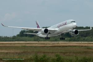 A7-ALC Qatar Airways Airbus A350-941 (MSN 9)