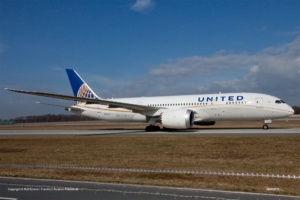 N45905 United Airlines Boeing 787-8 Dreamliner (sn 34825 / ln 55)