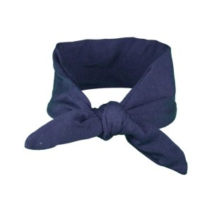 Plain Navy Baby/Toddler Hair Wrap
