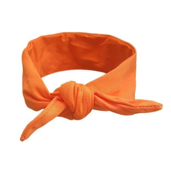 Plain Orange Baby/Toddler Hair Wrap