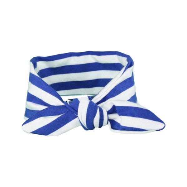 Blue & White Stripey