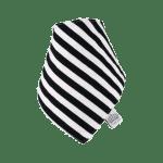 Zebra Frankie Lola bib