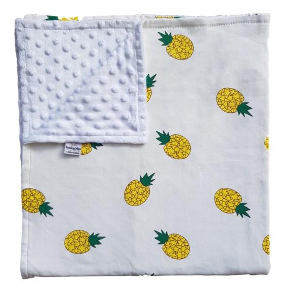 pineapple punch baby blanket