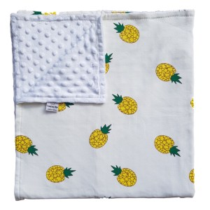 pineapple punch baby blanket