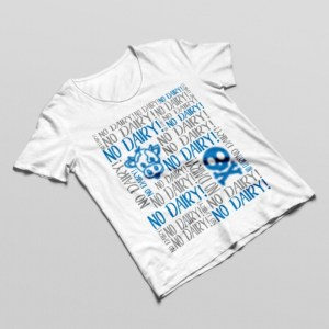 No Dairy Allergy Tshirt