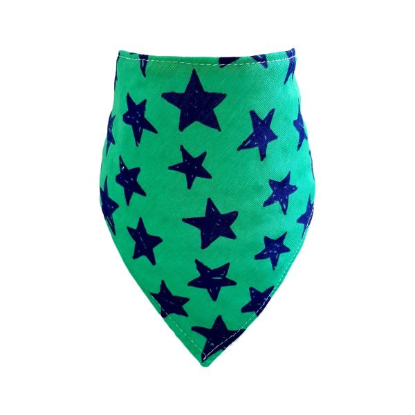 Green Star Bandana Bib