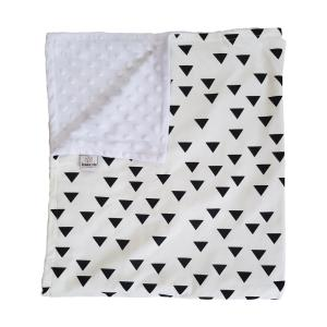 Triangle Cotton Baby Blanket