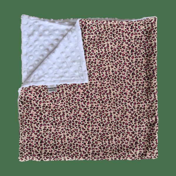Leopard Print Cotton Baby Blanket