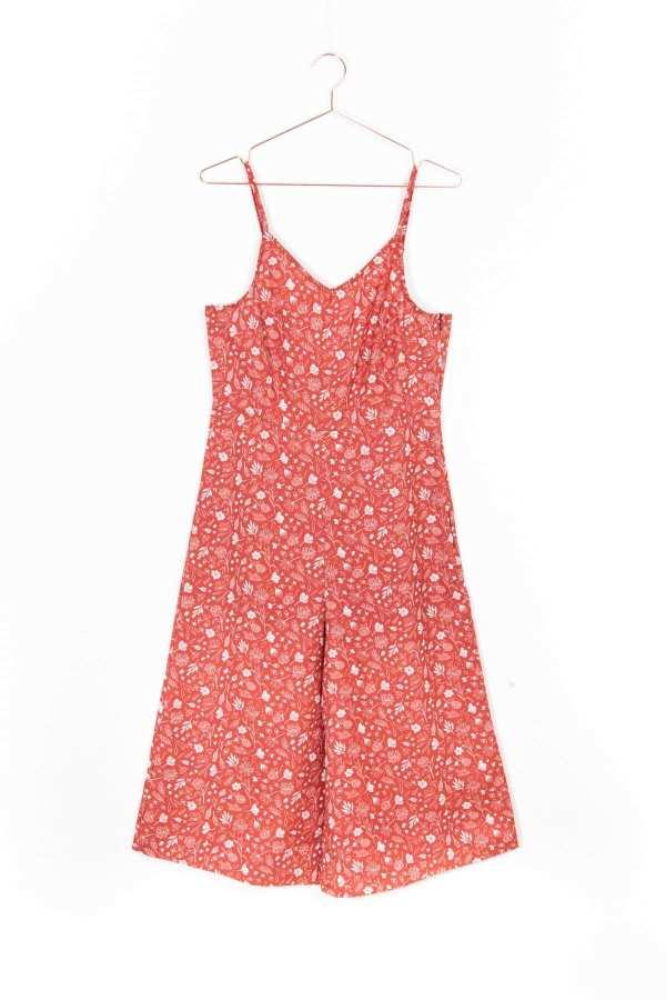 Produktbild: Culotte-Einteiler florales Muster, Vorderseite