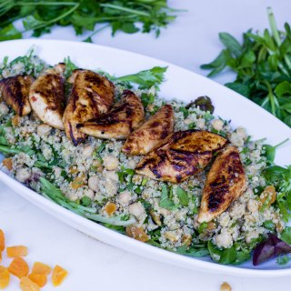Dinner Twist Review and a Recipe for Lemon Chicken with Quinoa Salad