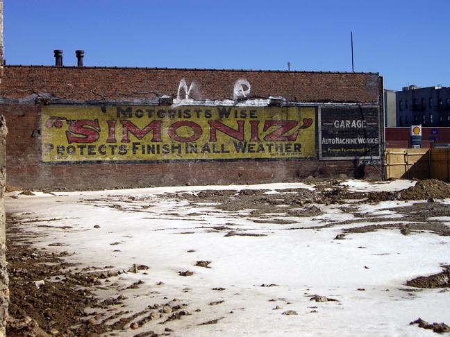 Simoniz - Empire Blvd - Ebbets Field, Brooklyn