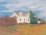 New England Farm Afternoon