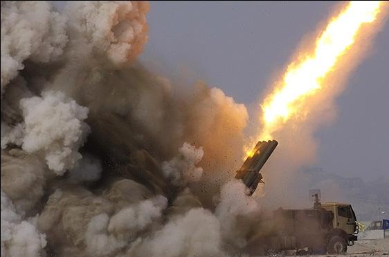 Iranian FAJR-5 rocket system
