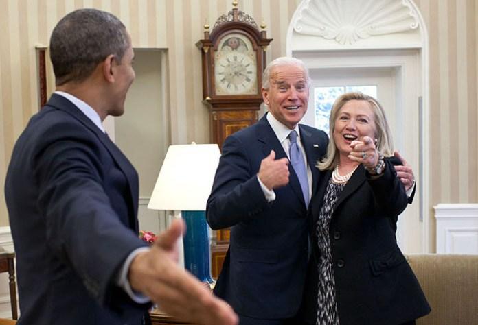 Obama Biden Clinton