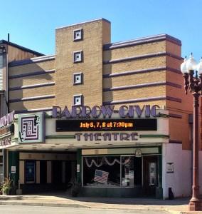 Barrow Civic Theater. Art Deco style