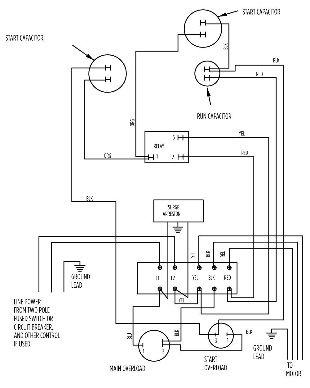 Franklin Electric 1081 Pool Motor Wiring Diagram - Wiring Diagram | 831