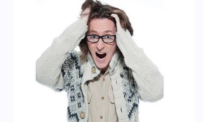 Ed Byrne Outside Looking In at The Lowry