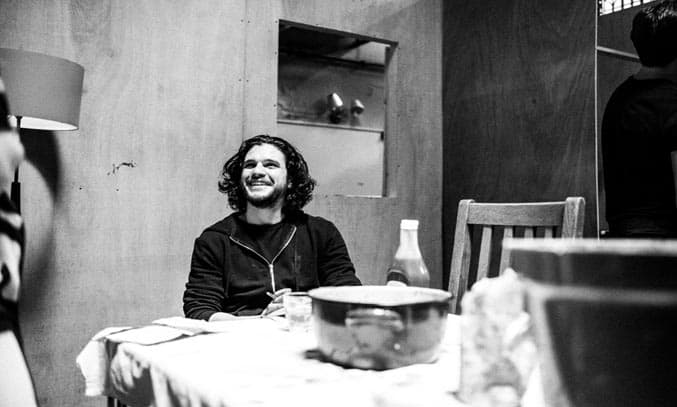 Kit Harington in rehearsals for Doctor Faustus. Picture Matt Humphrey