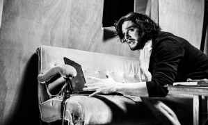 Kit Harington in rehearsals for Doctor Faustus. Image Credit: Matt Humphrey