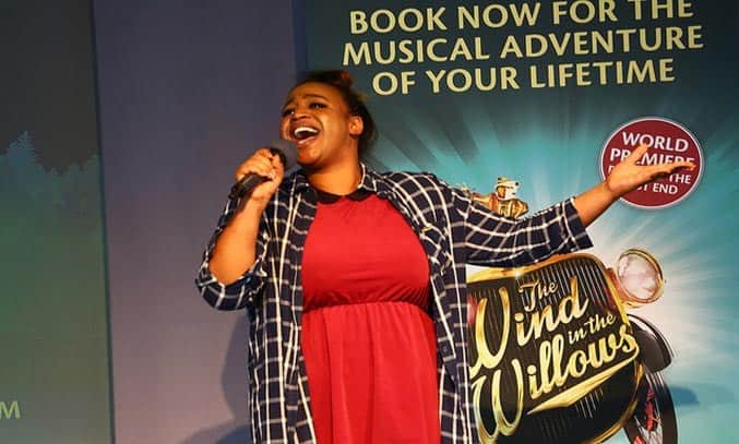 Sophia Nomvete at Wind in the Willows Launch