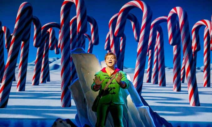 Ben Forster as Buddy in ELF THE MUSICAL