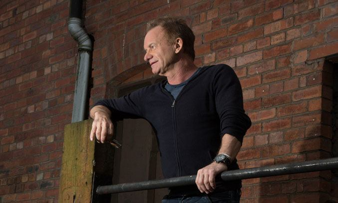 Sting at THE LAST SHIP Media Launch at Victoria Warehouse. Photo Credit: Nathan Cox