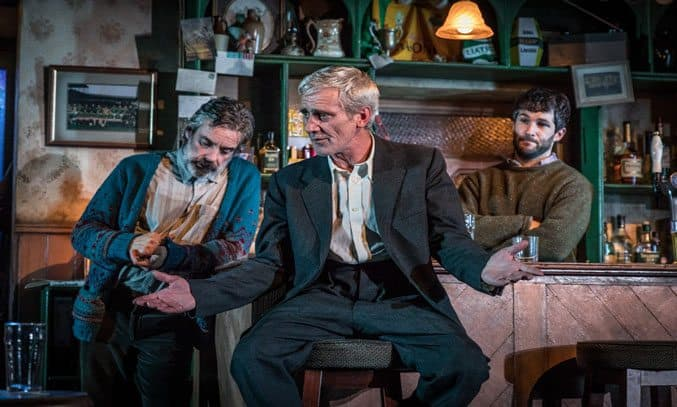 The Cast of THE WEIR at The Lowry