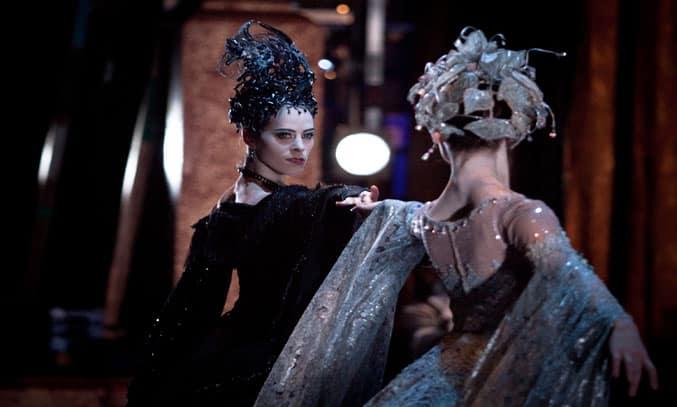 Samara Downs as Carabosse in Birmingham Royal Ballet's THE SLEEPING BEAUTY. Photo: Ty Singleton