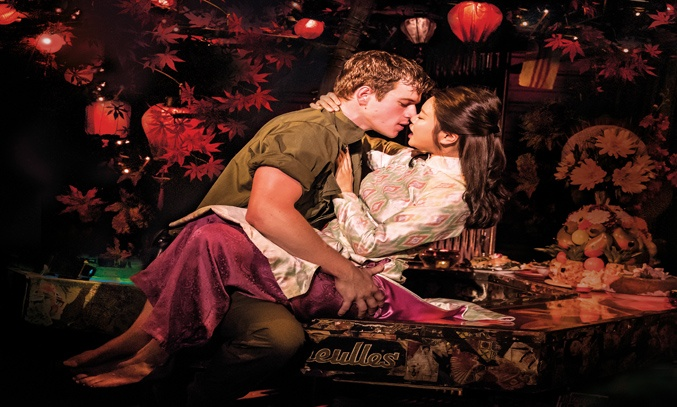 Ashley Gilmour and Sooha Kim in MISS SAIGON