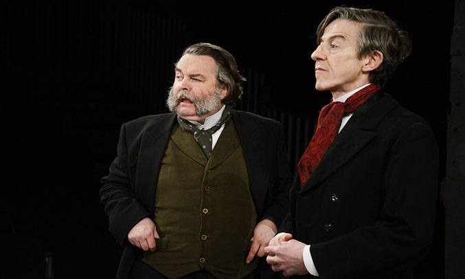 Howard Chadwick and Andrew Price in Northern Broadsides' HARD TIMES.