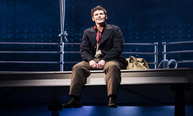 Niall Sheehy in Titanic The Musical.