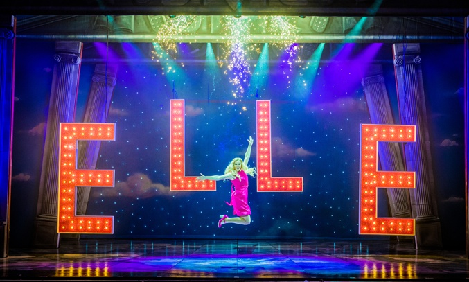 Lucie Jones as Elle Woods in LEGALLY BLONDE THE MUSICAL.